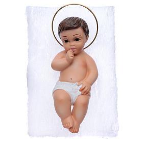 Gesù Bambino in gesso cm 15 s3