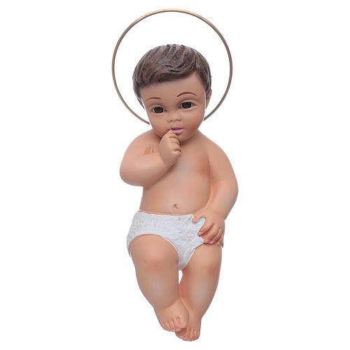Gesù Bambino in gesso cm 15 1