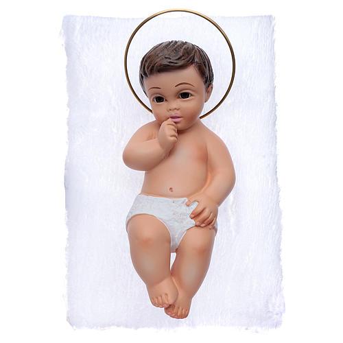 Gesù Bambino in gesso cm 15 3