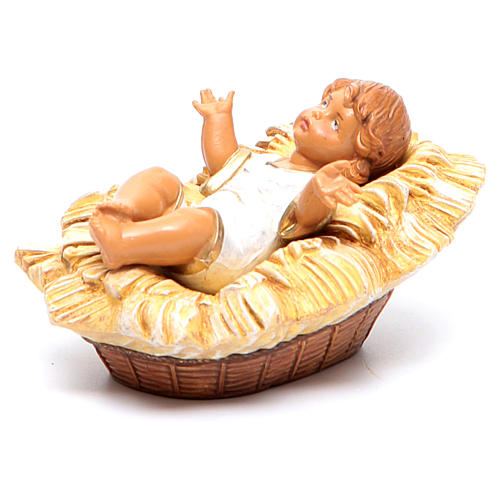 Enfant Jésus crèche Fontanini 19 cm 6