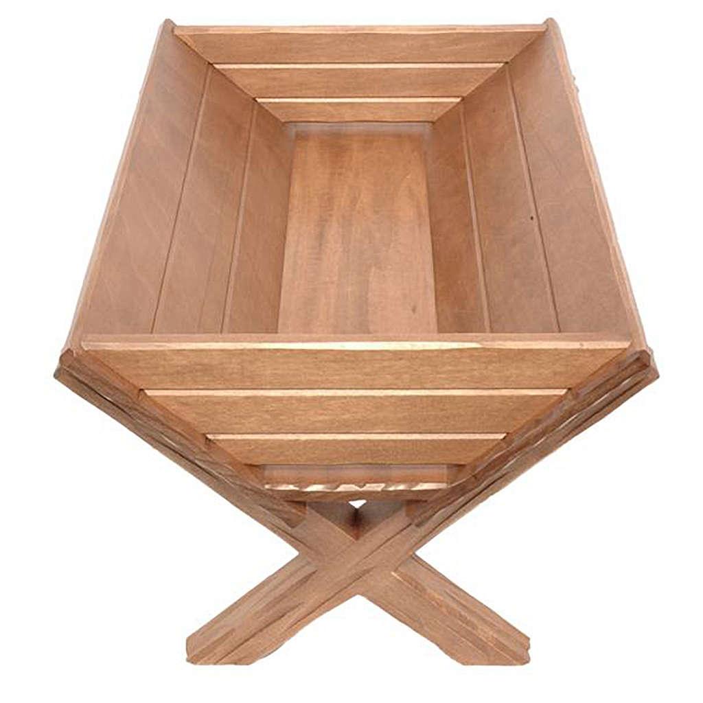 Culla legno per Gesù Bambino legno Valgardena 3