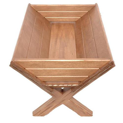 Culla legno per Gesù Bambino legno Valgardena 1