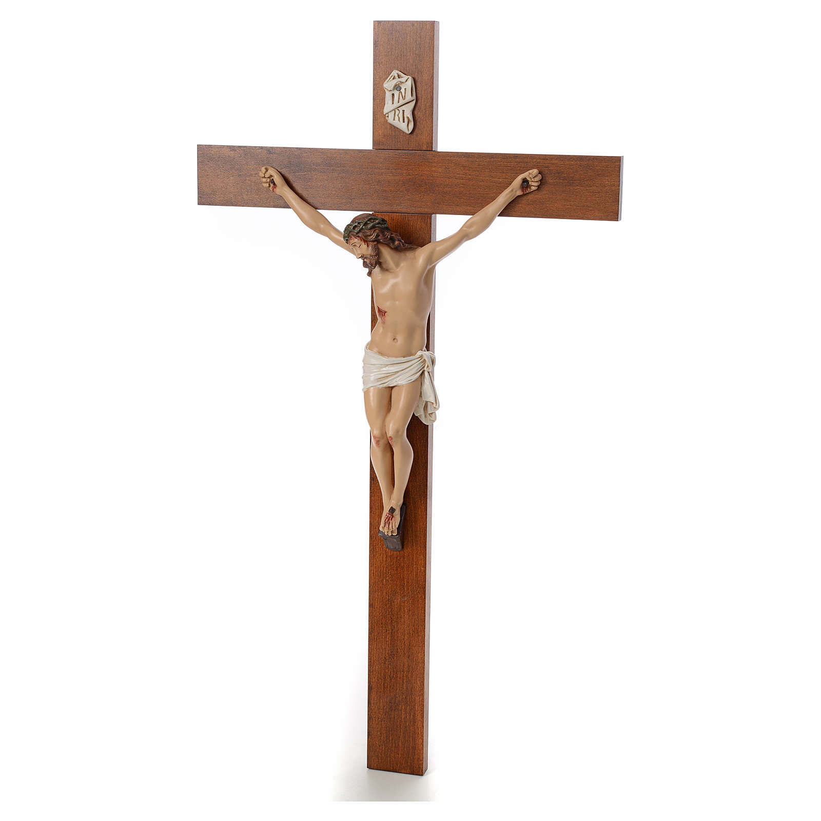 Baby Jesus, lying with crystal eyes, 27cm Landi 3