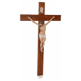 Baby Jesus, lying with crystal eyes, 27cm Landi s10