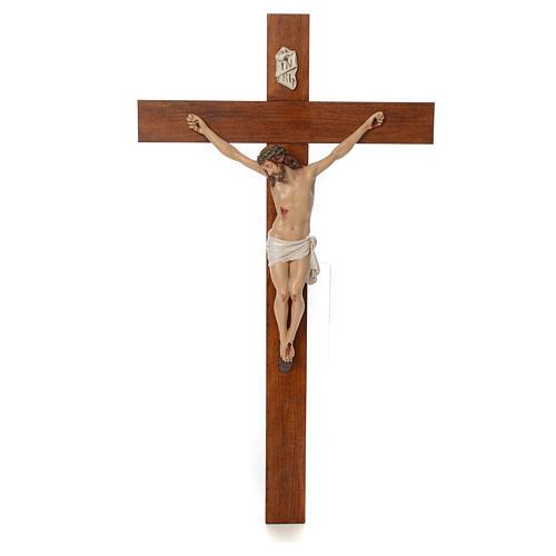 Baby Jesus, lying with crystal eyes, 27cm Landi 9