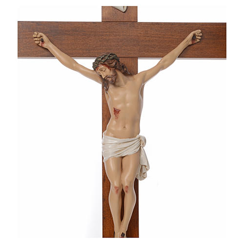 Baby Jesus, lying with crystal eyes, 27cm Landi 12