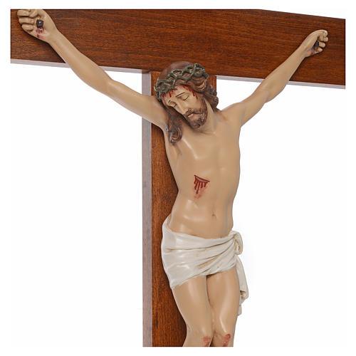 Baby Jesus, lying with crystal eyes, 27cm Landi 13