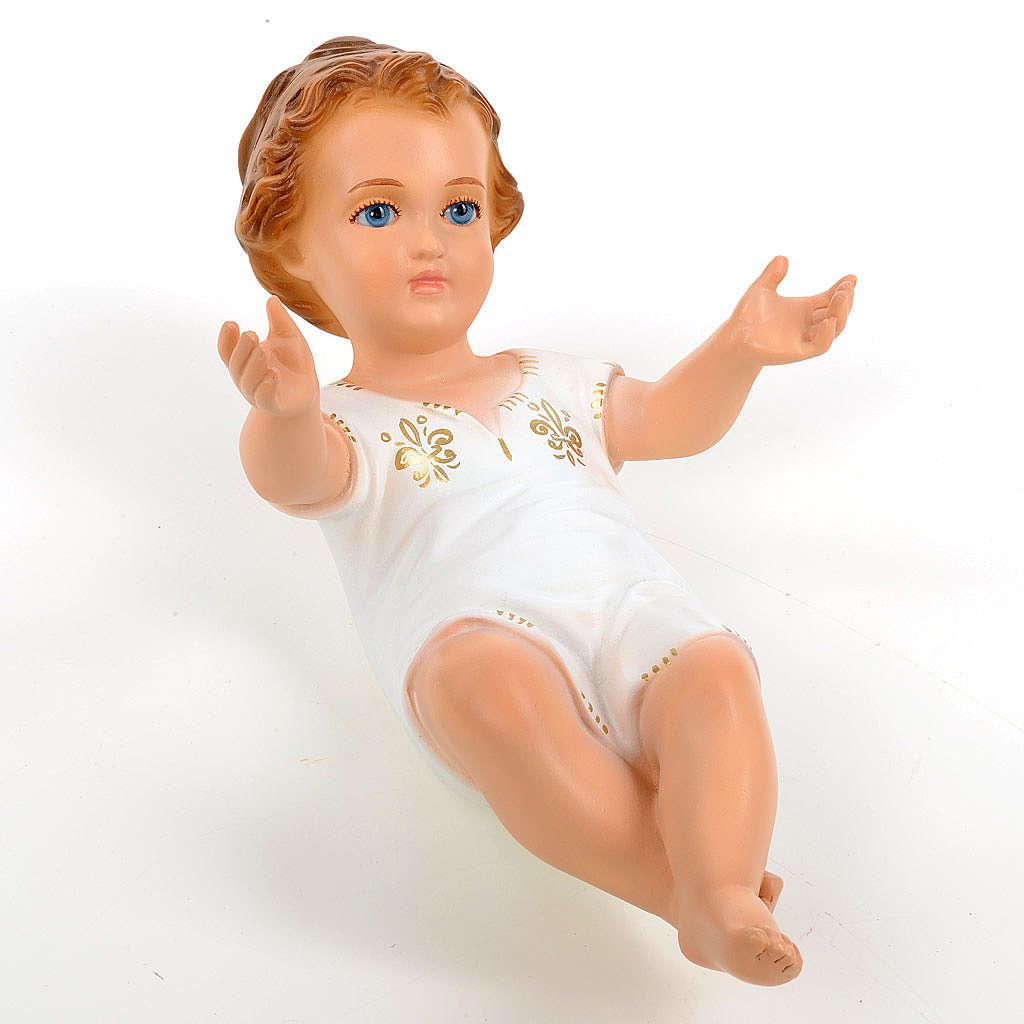 Enfant Jésus 27cm yeux en cristal Landi 3