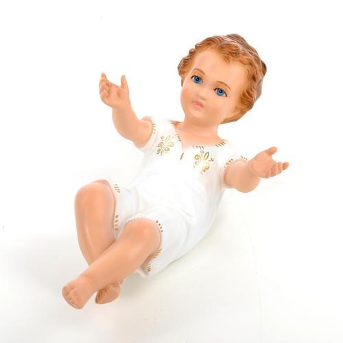 Enfant Jésus 27cm yeux en cristal Landi 5