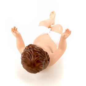 Baby Jesus, naked with crystal eyes, 58cm Landi s7
