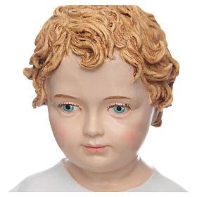 Bambino 30 cm Resina occhi dipinti Landi s3
