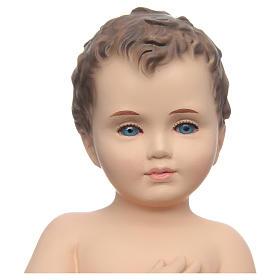 Baby Jesus, naked with crystal eyes, 24cm Landi s2