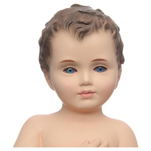 Baby Jesus, naked with crystal eyes, 24cm Landi 2