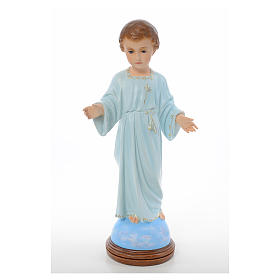 Baby Jesus standing, Holy Childhood, crystal eyes 55cm Landi s1