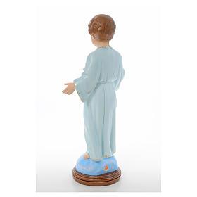 Baby Jesus standing, Holy Childhood, crystal eyes 55cm Landi s3