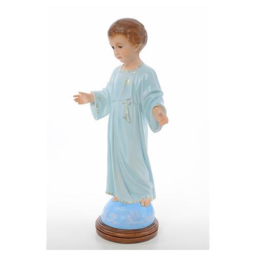 Baby Jesus standing, Holy Childhood, crystal eyes 55cm Landi 2