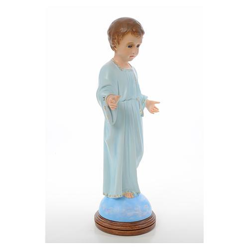 Baby Jesus standing, Holy Childhood, crystal eyes 55cm Landi 4