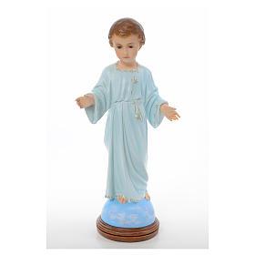 Statues Enfant Jésus: Enfant debout Sainte enfance 55cm yeux en cristal Landi