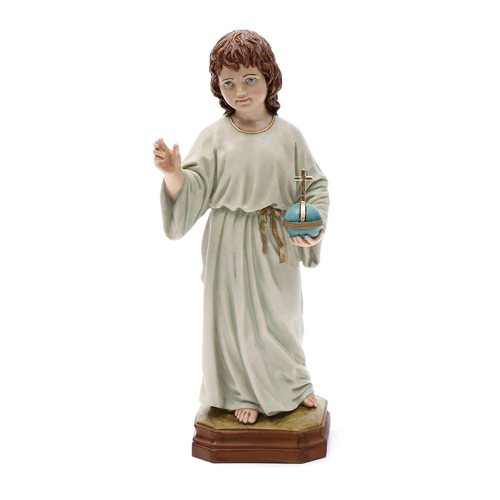 Niño Jesús regalo cm 25 Resina 3