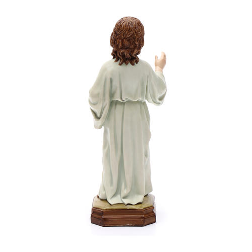 Niño Jesús regalo cm 25 Resina 4