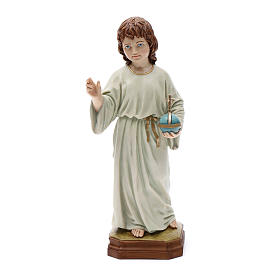 Figuras do Menino Jesus: Menino Jesus de Strenna 25 cm resina
