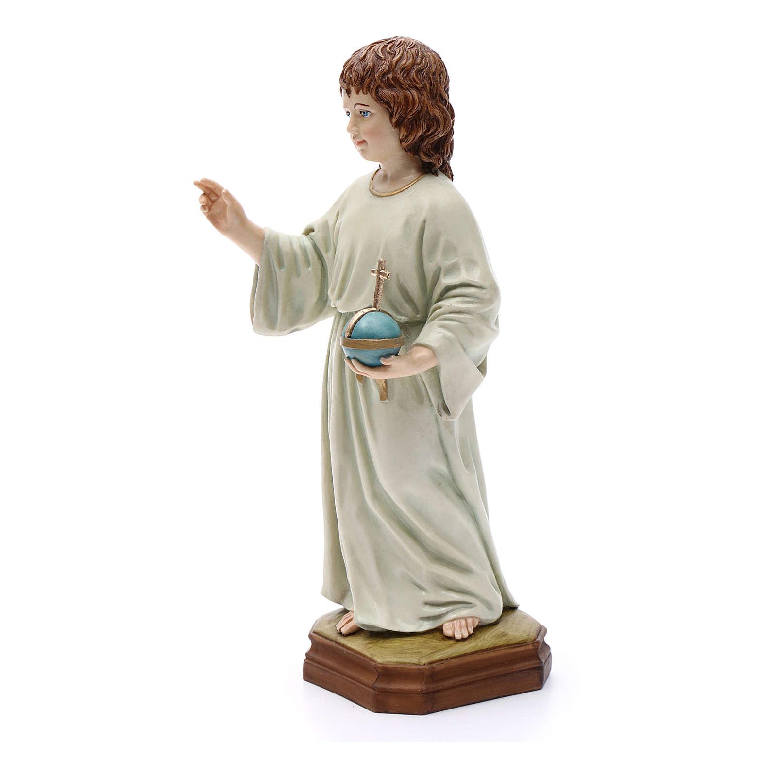 Child Jesus statue, in resin 25 cm 3