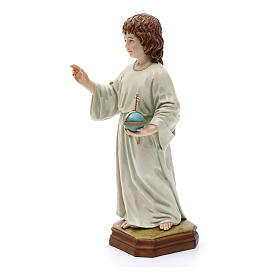 Child Jesus statue, in resin 25 cm s4