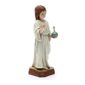 Child Jesus statue, in resin 25 cm s5