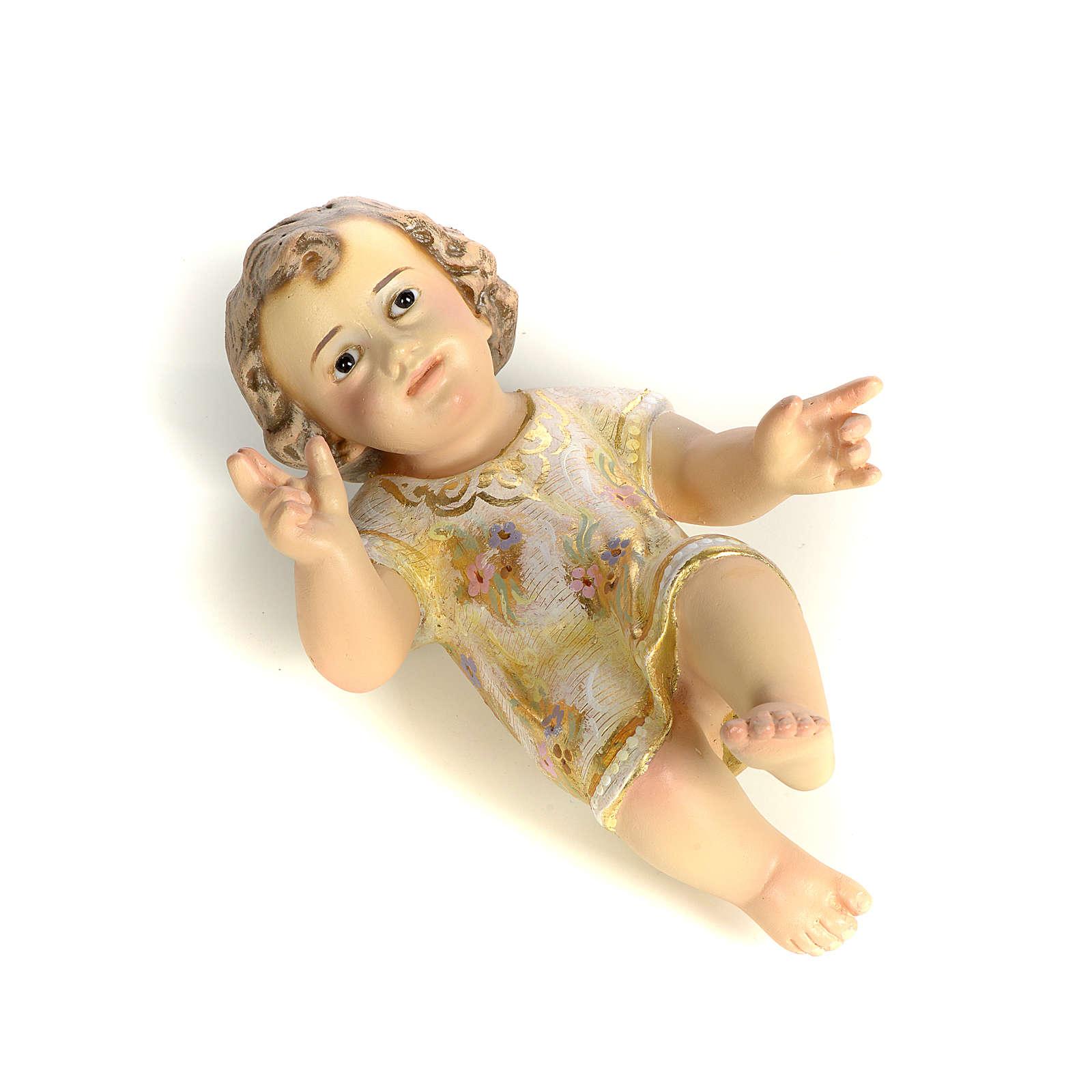 Dzieciątko Jezus 15 cm z miazgi drzewnej dekoracje extra 3