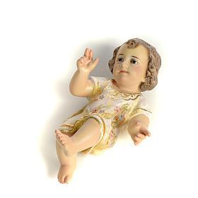 Dzieciątko Jezus 15 cm z miazgi drzewnej dekoracje extra s2