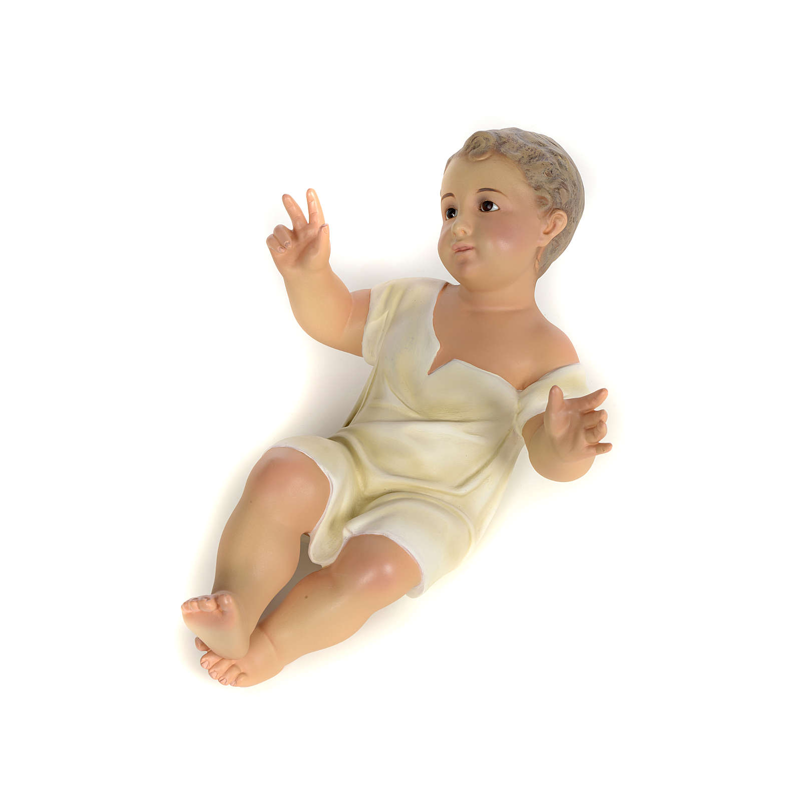 Enfant Jésus 35cm pâte à bois fine 3