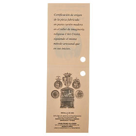 Enfant Jésus 35cm pâte à bois fine s18