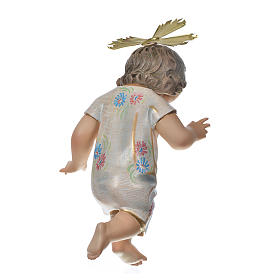 Gesù Bambino benedicente 35 cm pasta di legno dec. Speciale s5
