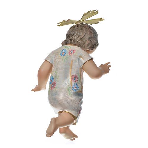 Gesù Bambino benedicente 35 cm pasta di legno dec. Speciale 5