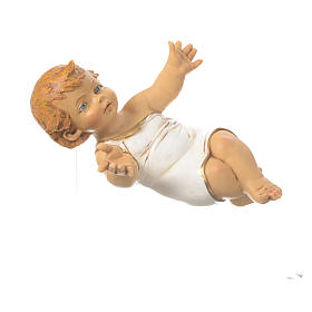 Bambin Gesù presepe 85 cm Fontanini resina s3