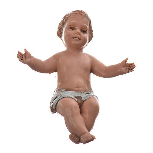 Baby Jesus nativity figurine, 10cm Moranduzzo 1