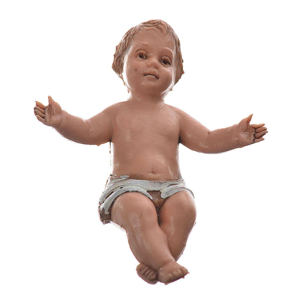 Baby Jesus nativity figurine, 10cm Moranduzzo 4