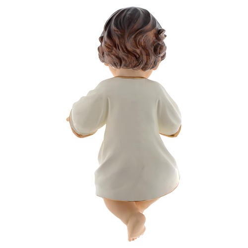 Enfant Jésus en résine 34 cm 4