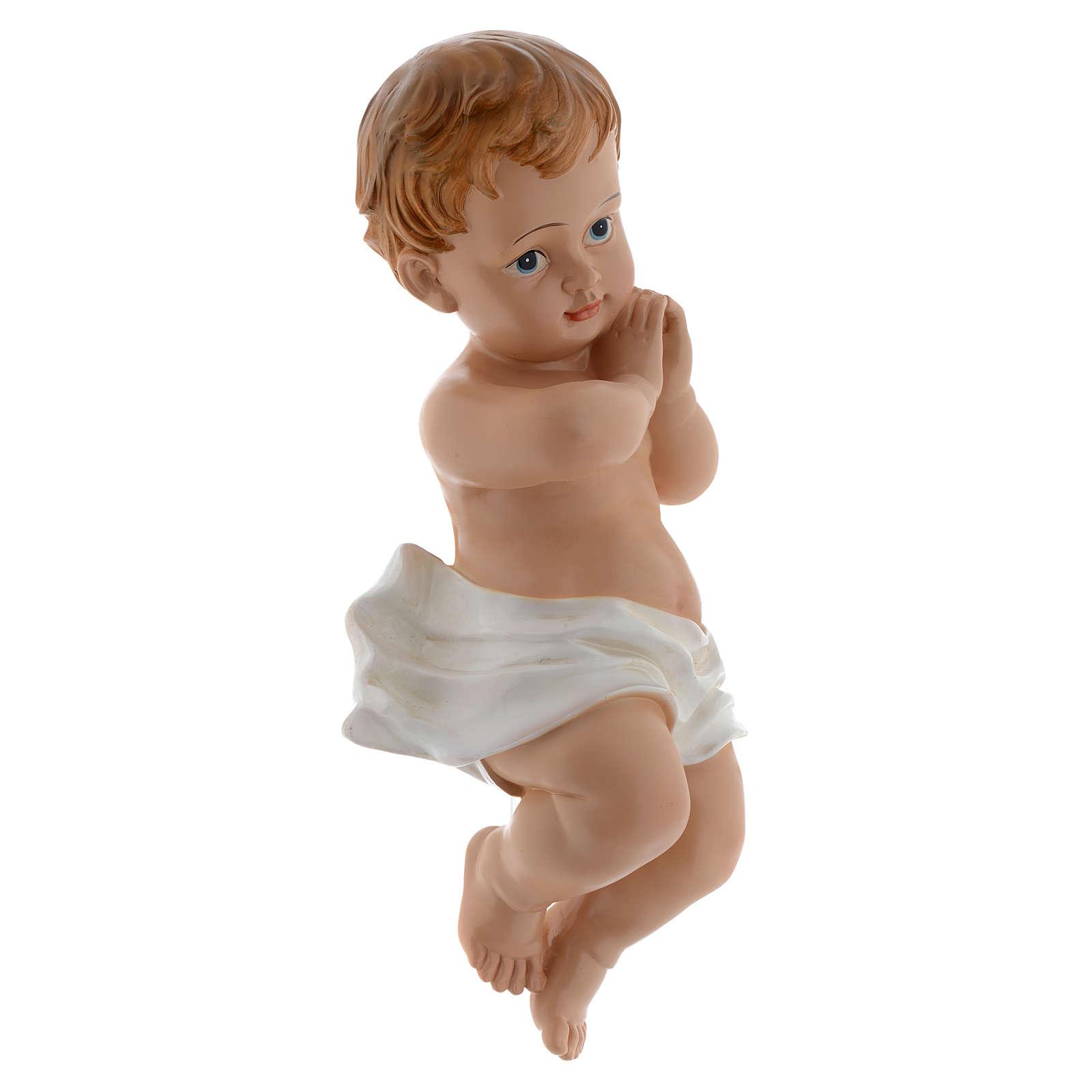 Baby Jesus statue 39,5 cm in resin 3