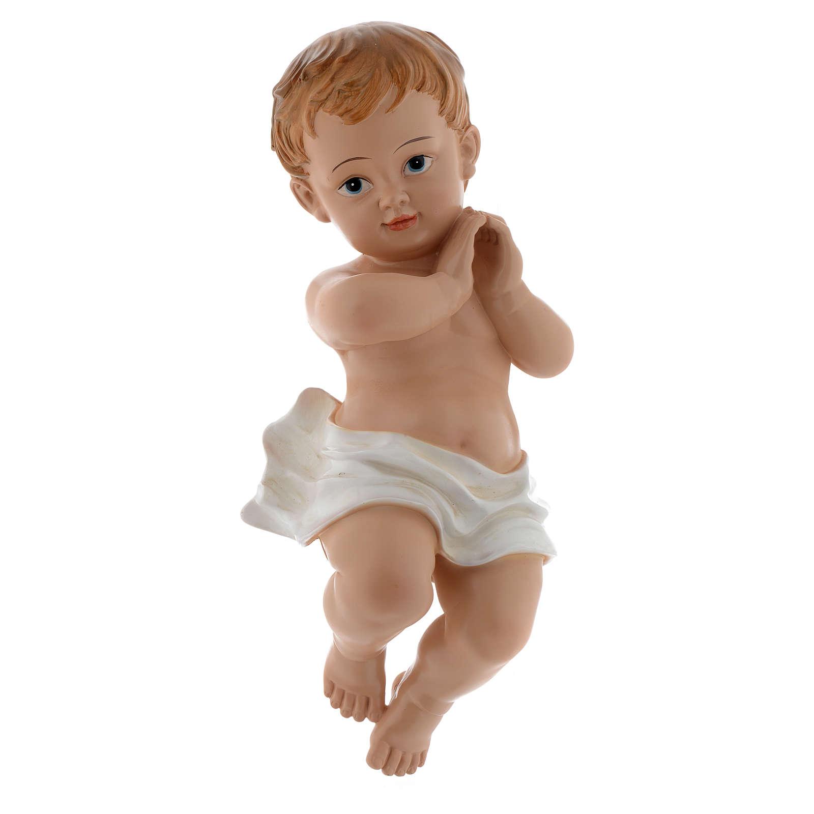 Statua Bambinello 39,5 cm resina 3