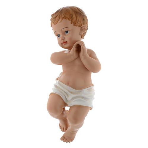 Baby Jesus statue 39,5 cm in resin 2