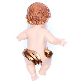 Baby Jesus figurine in resin measuring 15cm s2