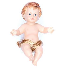 Baby Jesus figurine 15 cm, in resin s1