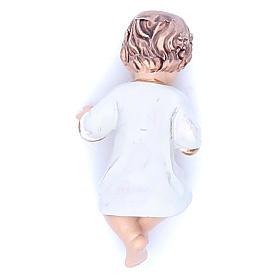 Baby Jesus figurine in resin measuring 6.5cm s2