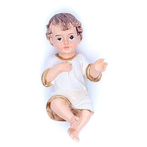 Baby Jesus figurine in resin measuring 6.5cm 1