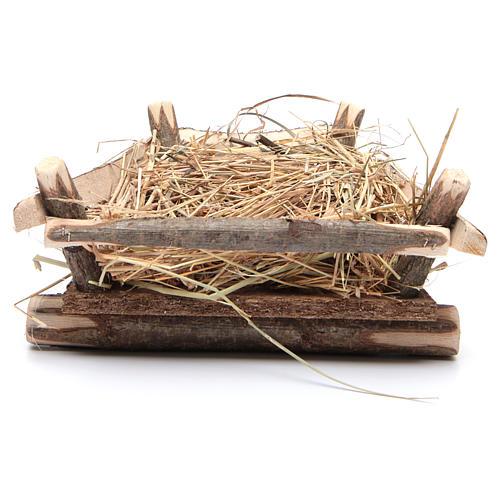 Berceau pour Enfant Jésus crèche de 52 cm Fontanini 3