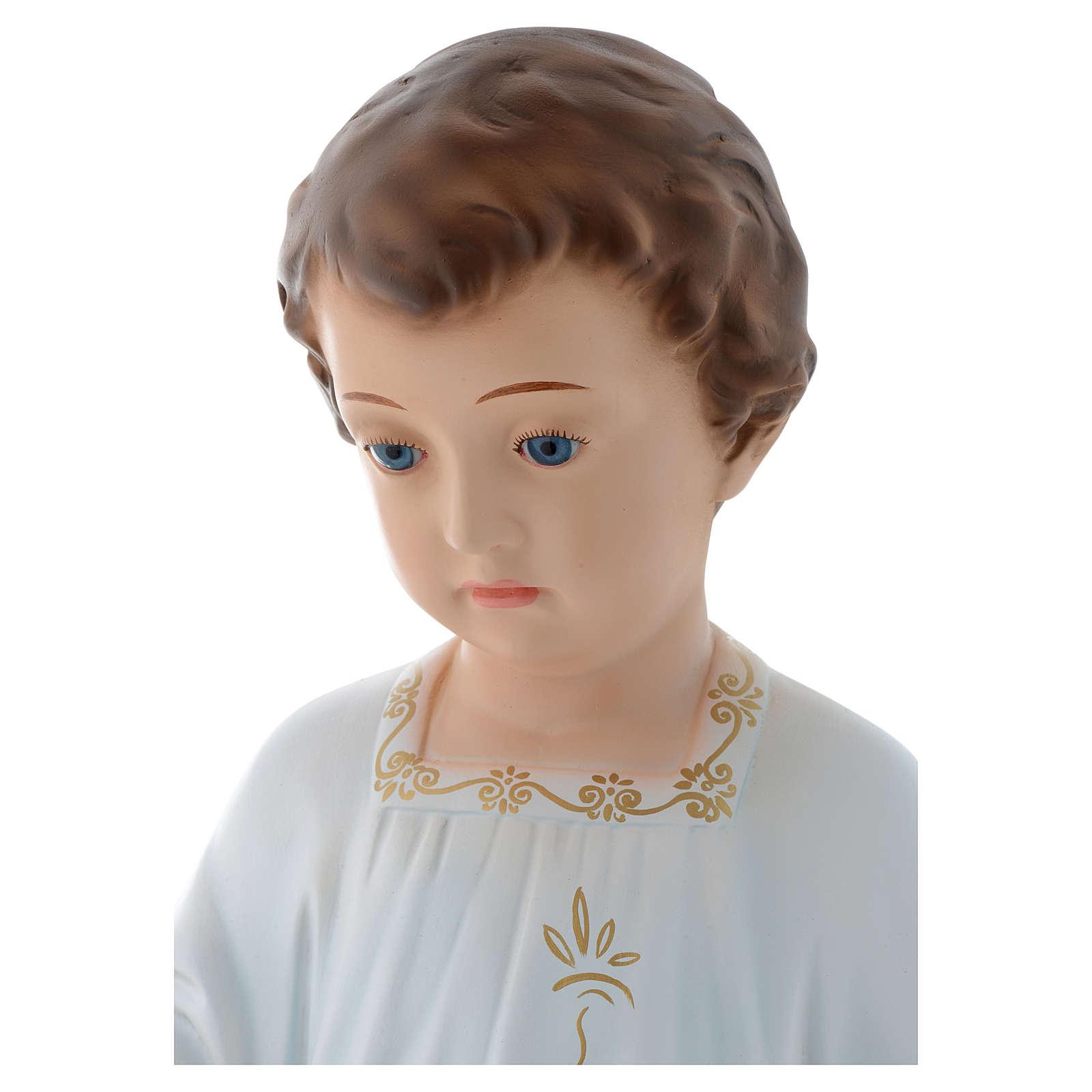 Baby Jesus Holy Childhood figurine 75cm by Landi with crystal eyes 3