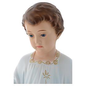 Baby Jesus Holy Childhood figurine 75cm by Landi with crystal eyes s2