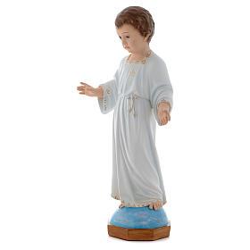 Baby Jesus Holy Childhood figurine 75cm by Landi with crystal eyes s3