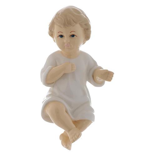 Gesù Bambino ceramica lucida 17 cm 1
